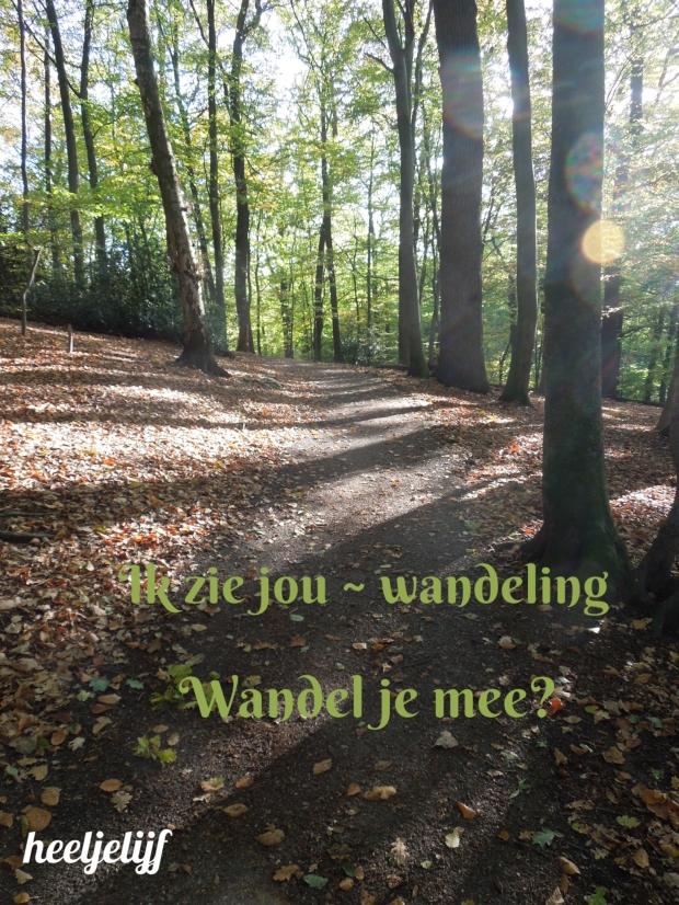 Ik zie jou - wandeling